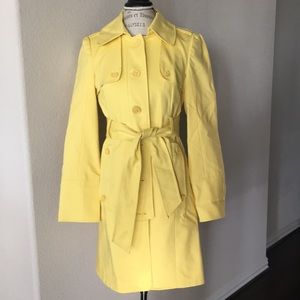The Limited Yellow Trench Coat